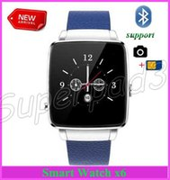 X6 Smart Watch Wearable Smart Watch Orologio Smart per il tempo libero Smarthone Android per iPhone con SIM TF slot per fotocamera Bluetooth 10pcs