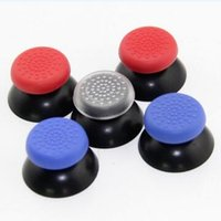 Wholesale Hat Cases - TPU Silicone Thumb Grips Stick Handle Rocker Protective Case for PS4 PlayStation 4 PS3 Xbox one 360 Game Controller Hat Cap Antiskid Q2