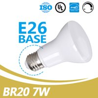 Led Ampoules En Gros E26 Base 550lm Dimmable 7W Led BR20 Lumière D'inondation UL Energy Star Listed