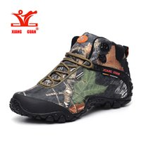 Wholesale Women Wearing Boots - 2017 Winter men and women outdoor Hiking Boots waterproof canvas sport trekking boots Anti-skid Wear Mountain Climbing Boots