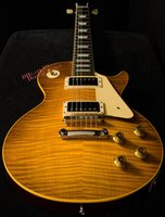 Wholesale Electric Guitar Reissue - 10S Custom Shop True Historic 1959 Reissue Vintage Lemon Burst Electric Guitar