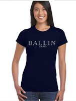 Wholesale power fitness - 2017 Ballin Amsterdam Women T Shirt Fitness Slim Quick Dry T Shirts Female Shirt Brand Clothing Tops women GIRL POWER t shirt