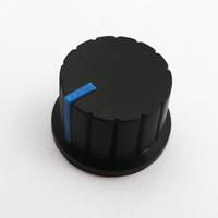 Wholesale Amplifier Volume Knob - Volume knob,speaker knob,speaker accessories148 plastic knob amplifier knob mixer knob long 16 mm Free shipping