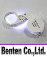 Wholesale Magnifier Jeweler Jewelry Eye Loupe - 40x 25mm Glass Magnifying Jeweler Magnifier Eye Jewelry Loupe Loop tz Lights Led Light LLFA11