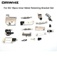 Wholesale Inside Bar - For iPhone 6 6 plus 6s 6s plus 7 7plus Inner Accessories Inside Small Metal Parts Holder Fastening Bracket Shield Plate Set Kit