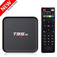 Wholesale Video Streaming Media Player - S905X Android Ott TV Box 4K Video Streaming Media Player 1GB ram 8GB rom 2.4GHz WiFi BT4.0 T95M HD TV Box