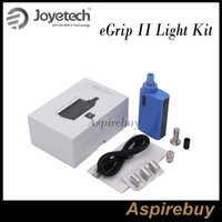 Wholesale Performance Tank - Joyetech eGrip II Light TFTA-Tank Technology All-in-One Kit 2100mah Battery Capacity and 3.5ml Capacity Compact High Performance KitOriginal