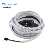 1 Rolle Arbeit in Wasser 5050 SMD LED Streifen licht Band DC 12 V 5 Mt / 300 LEDs lampe Band Flexible Silikon Kanüle IP67 Wasserdicht