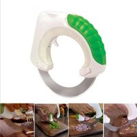 Wholesale Circular Cutters - Circular knife Round Shape Wheel Rolling Kitchen Tool With Stainless Steel Blade Vegetable Meat Cake Pizza Cutter Creative Kitchen Supplies