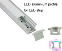Wholesale Deep recessed aluminium LED profile for led strip fooring light smd5050 led channel profile X0 M