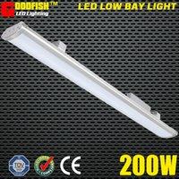 Wholesale Workshop Light Waterproof - LED batten lamp 5FT 1500mm Lighting fixture 200W LED LOW BAY LIGHT IP65 Waterproof led linear warehouse Light
