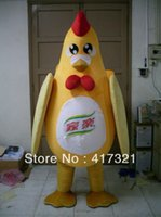 Wholesale Chicken Mascot Costumes - Wholesale-Beautiful chicken mascot costume chicken costumes for adult