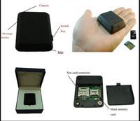 Wholesale Gsm Gps Tracker Camera - X009 Mini GPS Tracker Locator Camera Monitor Audio Video Record Monitor GSM Monitor Video Recorder GPS Tracking Deveice