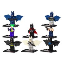Wholesale 2017 Set D840 Avengers Marvel Comics DC Batmannes Robin Joker Surper hero Building Blocks Toys as Gift for Kids As Birthday Gift