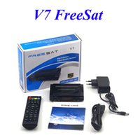 Récepteur de récepteur satellite Freesat V7 DVB-S2 HD 1080P 3G Youtube CCcam Newcamd PowerVu Supported Set Top Box