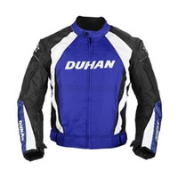 Wholesale Motocross Jacket Duhan - DUHAN Men's Motocross Off-Road Racing Sports Jacket Motorcycle Windproof Riding Jaqueta Clothing with Five Protector Guards