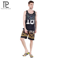 Wholesale Cheap Wholesale Mens Clothing - Wholesale-Tailo Pal Love Fast Drying Men Board Shorts Surf Cheap Mens Swim Trunks Beach Wear Short De Sport Summer New Brand Clothes