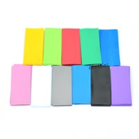 Wholesale Wholesale Plastic Sleeves - 100Pcs 18650 Battery Sleeve Heat Shrinkable Tube Wrap 72   30mm 11 Color Free Shipping