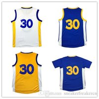 8147133c39b7 2017 Top sales 100% stitched Men  30 Curry Basketball jersey Cheap Youth  Kid C y  30 jersey Throwback embroidery Logos jerseys Free Shipping ...