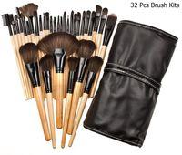 Wholesale pincel bag for sale - Group buy Set Professional Makeup Brush Foundation Eye Shadows Lipsticks Powder Make Up Brushes Tools Bag pincel maquiagem