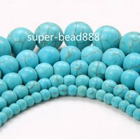 Wholesale Turquoise Round Beads 6mm - NEW 500pcs kallaite Round Green Turquoise Beads for Jewelry Making 4mm 6mm 8mm 10mm