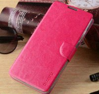 Wholesale Philips Card - 2014 New Fashion Leather Stand Case Cover For Philips Xenium W6610 Phone Cases Card Holder Free Shipping