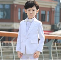 Wholesale Occasion Suit Dress For Boys - Boys suits for wedding formal occasion boy suits whirt classic boy suits boys flower girl dress suits fashion boy suits(jacket+pants+tie)