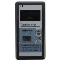 testeur de transistor esr achat en gros de-Gros-Nouvelle Arrivée M328 Numérique Composant Transistor Testeur Diode Triod Capacité ESR Mètre 12864 Haute Qualité