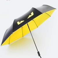 Wholesale Umbrella Fabric Manufacturers - Small demon umbrella Creative vinyl manufacturer sunshade umbrella Uv folding umbrella