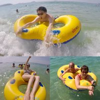 Hot Mother Baby Swimming Boat Pool Baby Kid Crianças Swim Seat Segurança Inflável Float Duplo Adulto Casal Circle Ring Beach Playing Toys
