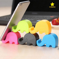 Universal Cartoon Elephant Dolphin Cat Stand Supports compacts de supports Support de berceau de siège pour iPhone Samsung Mobile Cell Phone Tablet