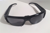 Wholesale Glass Hd Cam - 1920*1080P 5MP HD Digital Video Spy Sun Glasses Camera Hidden Eyewear DVR Camcorder DV Cam Recorder For Outdoor Sports