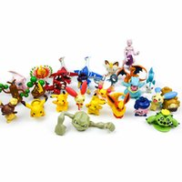 Pikachu Pocket Monster Poke Action Figure Giant LPS Tutina Pikachu Stuff Animal Mini Figure Kigurumi Pikachu Pet Gioco Poket Giocattoli bambola