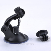Wholesale Car Camera Suction Cup - New Car Suction Cup Adapter Window Glass Mount Holder Tripod for Gopro Hero 5 4 3 2 Sjcam Sj4000 Xiaomi Yi Camera Accessories