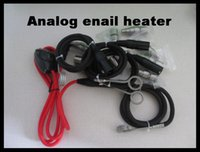 Wholesale Type K Free Shipping - Analog enail controller with 16mm 20mm cable heater with thermocouple type k 120v 150w temperature controller coil free shipping