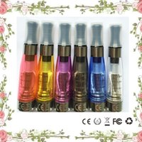 Wholesale Ego Replaceable - E cigs Ego CE4 Clearomizer Atomizer 1.6ml Electronic Cigarette Cartomizer For Ecig E-cigarette Ego t,Ego w all Ego Series CE logo