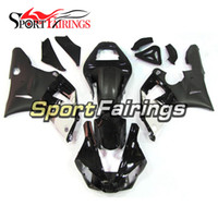 Wholesale Yamaha R1 Fairings White - Complete Injection ABS Plastics Motorcycle Fairings For Yamaha YZF 1000 YZF R1 Yaer 00 - 01 YZF-R1 2000 2001 Fairing Kits White Black Covers