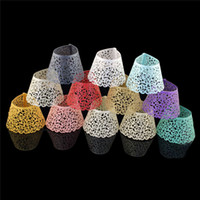 Wholesale Laser Cut Cupcake Collars - 12pieces lot Laser Cut Lace Wedding Cupcake Wrapper Filigree Vine Wraps Collars Cups Baby Shower Party Table Decoration