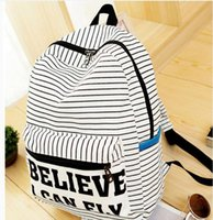 Frauen Rucksack für Teenager Mädchen Handmade Vintage Rucksack Striped Canvas Notebook Mochila weiblichen Schul Laptop Verkauf Marke Bag