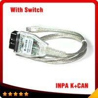 Wholesale Dcan Bmw Diagnostic Scanner - 2016 New INPA K+DCAN USB Interface For bmw OBD CAN Reader Diagnostic scanner Switched INPA DIS SSS NCS Coding free shipping