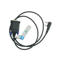 cabos de programação baofeng venda por atacado-RowayRF RS232 porta serial walkie talkie Cabo de Programação para Kenwood Baofeng Rádio TK-3207 TK-3107 UV-5R frete grátis