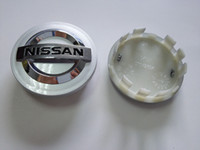 Atacado-54MM / 60MM para Nissan Wheel Center cap Roda Center hub caps para Altima Maxima Murano 350Z Sentra CAR STYLING