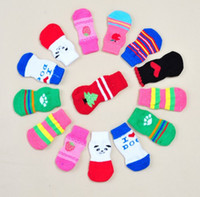 Wholesale High Quality Dog Socks - Wholesale pet Socks 3 size of the bottom of the foot of the foot of a high quality dog pet socks