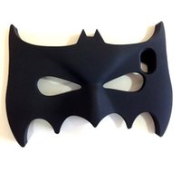 Novas vendas 3D Halloween Batman Design Casos de telefone celular Silicone Black Luminous Bat Mask Estojos de telefone celular para Iphone5 Iphone6 ​​6plus