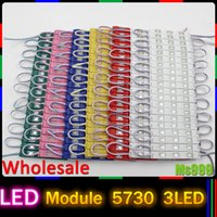 Wholesale Lighted Letters Wholesale - wholesale LED Injection Module light lamp SMD 5730 waterproof LED modules for sign letters LED back light SMD5730 3 led DC12v