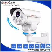 Wholesale 12mm outdoor bullet camera for sale - Group buy 2MP P Bullet AHD PTZ Camera mm x Zoom Auto Cruise preset M IR Distance Pan Tilt Zoom