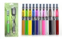 elektronisches vaporizer ego ce4 kit großhandel-elektronische Zigarette Ego CE4 Blister Kit 1,6 ml Zerstäuber Vape Stift Ecig 650 900 1100mah EGO T Batterie Blister Kit Vaporizer E Zigaretten
