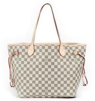 Wholesale European Style Vintage - Luxury Handbags Women Bags Designer Brand Famous Shoulder Bag Female Vintage Satchel Bag Pu Leather Gray Crossbody Shoulder Bags