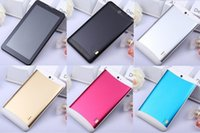 Wholesale Chinese Dual Core Tablet - 1pcs 7 inch 3G Phablet Phone Calling Tablet PC MTK6572 Dual Core Android 4.4 Capacitive Touch WCDMA GSM Bluetooth Camera Dual Sim Card