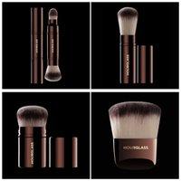 Wholesale Retractable Foundation Brush - Brand hourglass makeup brushes 1 pc RETRACTABLE KABUKI COMPLEXION POWDER FOUNDATION blending bronzer contour make up brushes.